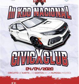 III KDD Nacional CivicXClub